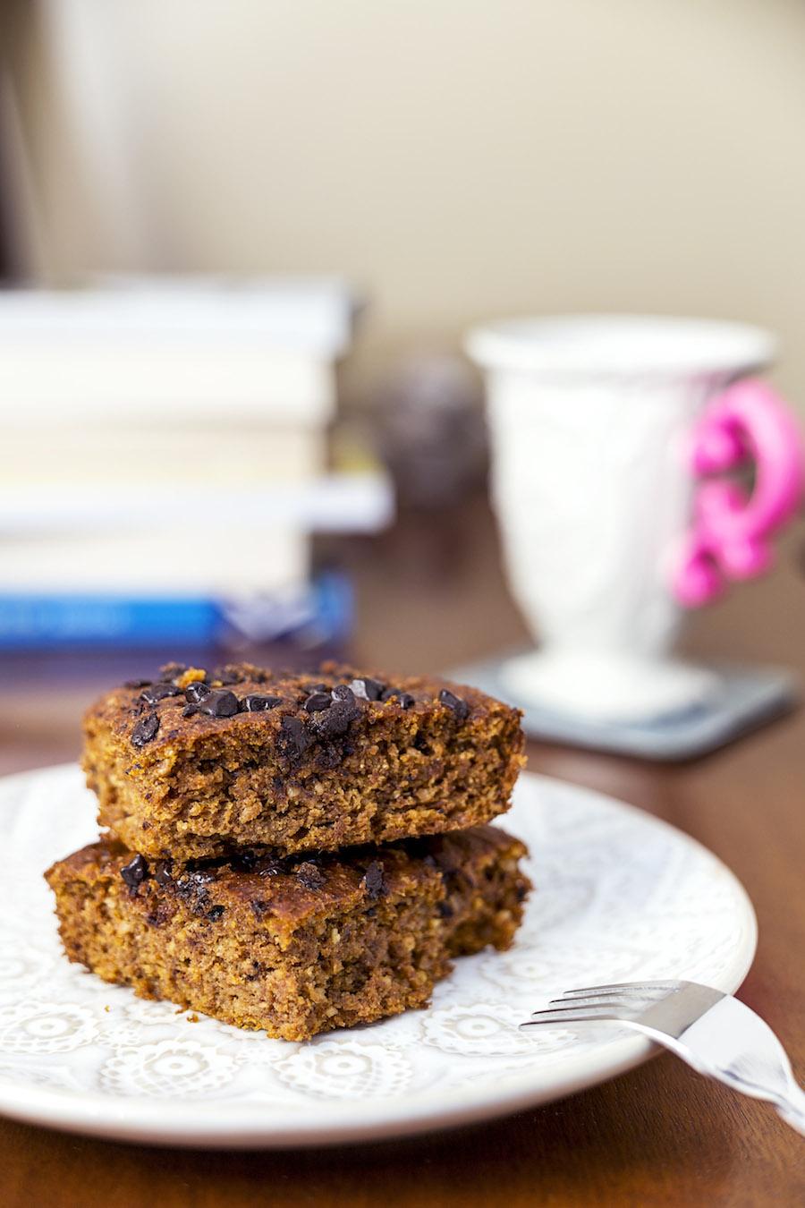 Balkabaklı ve cevizli glutensiz kek 1
