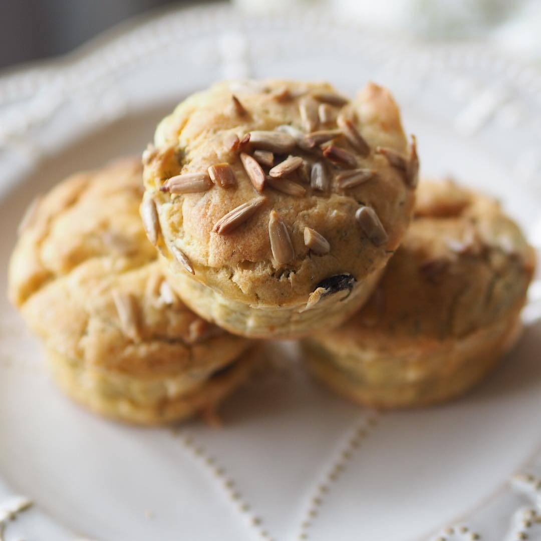 Kinoalı, dereotlu muffin 1