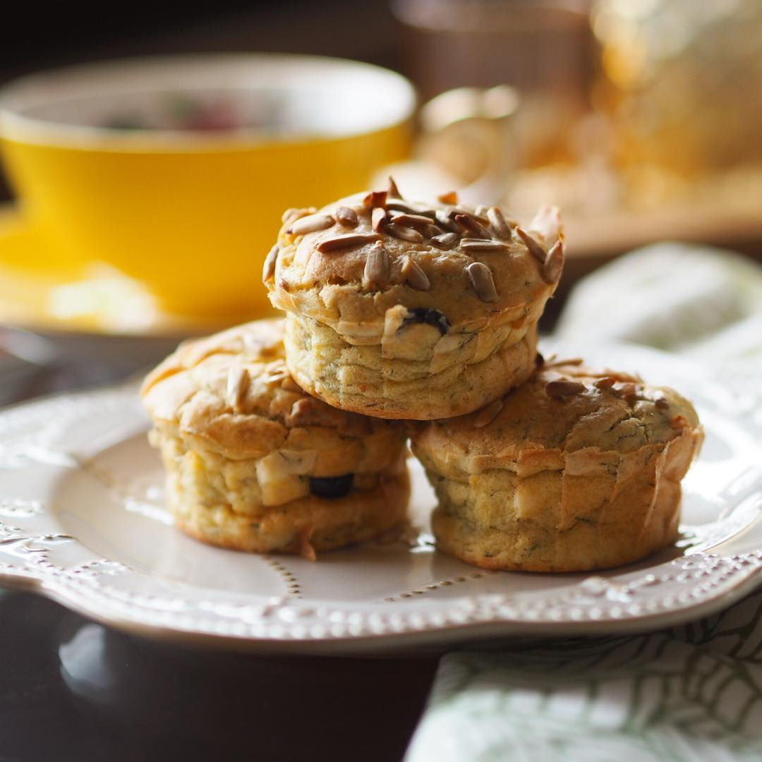 Kinoalı, dereotlu muffin 3