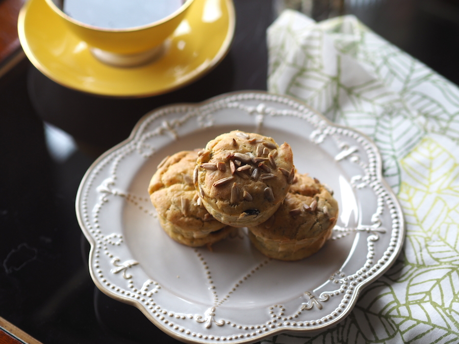 Kinoalı, dereotlu muffin 2