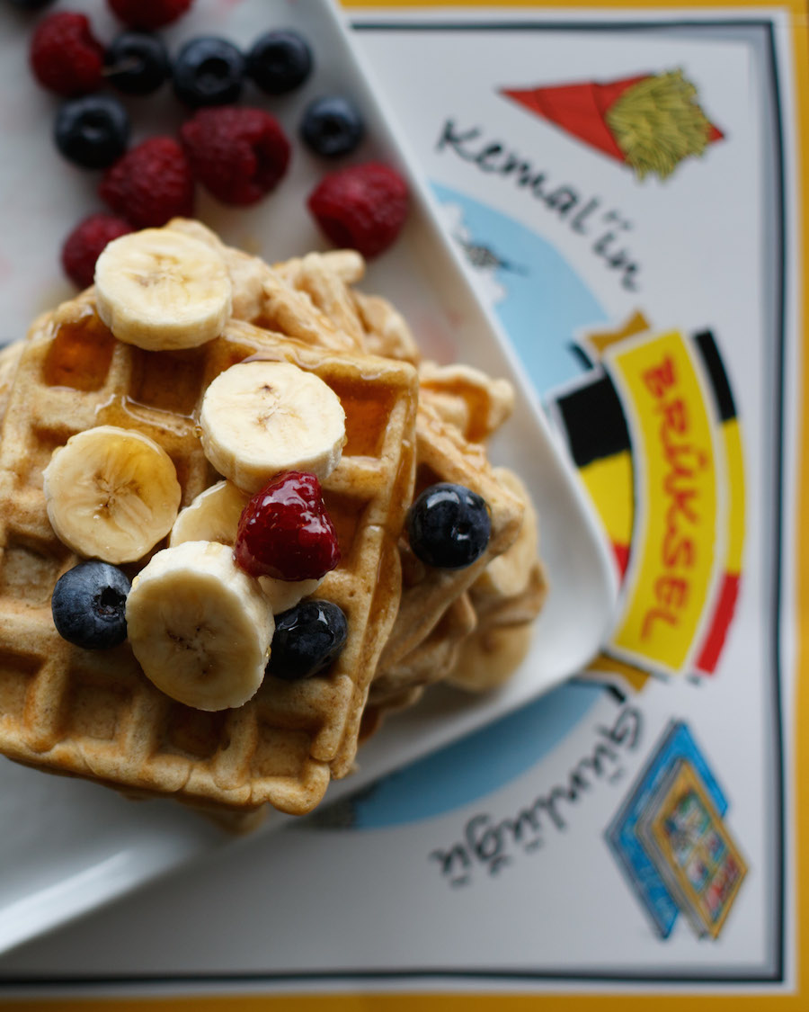 Kemal'in Brüksel Günlüğü Waffle Tarifi 1