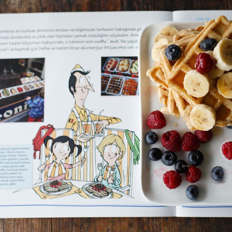 Kemal'in Brüksel Günlüğü Waffle Tarifi tam buğday 2