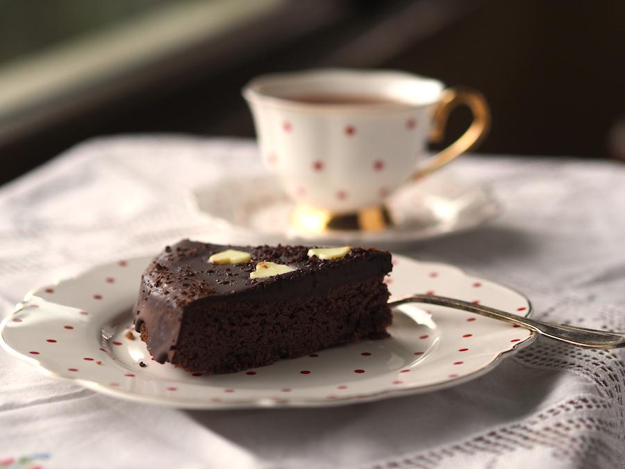 Hindistan Cevizli Kakaolu Pasta (Unsuz, glutensiz, sütsüz) 2
