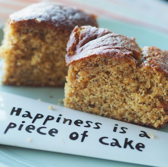 Glutensiz ve sütsüz limonlu haşhaşlı kek
