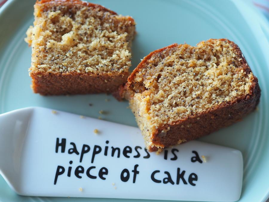 Glutensiz ve sütsüz limonlu haşhaşlı kek 5