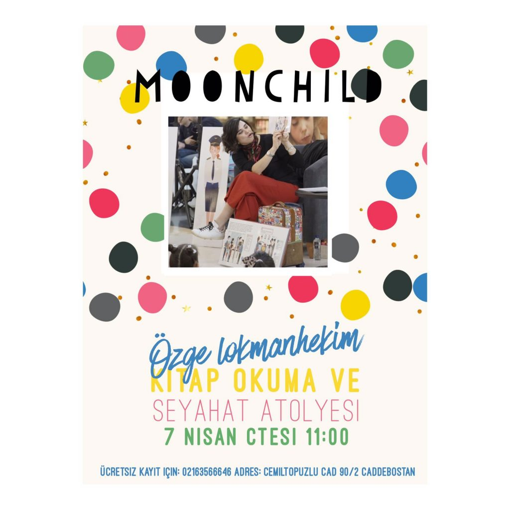 7 Nisan saat 11.00 – Moonchild Caddebostan