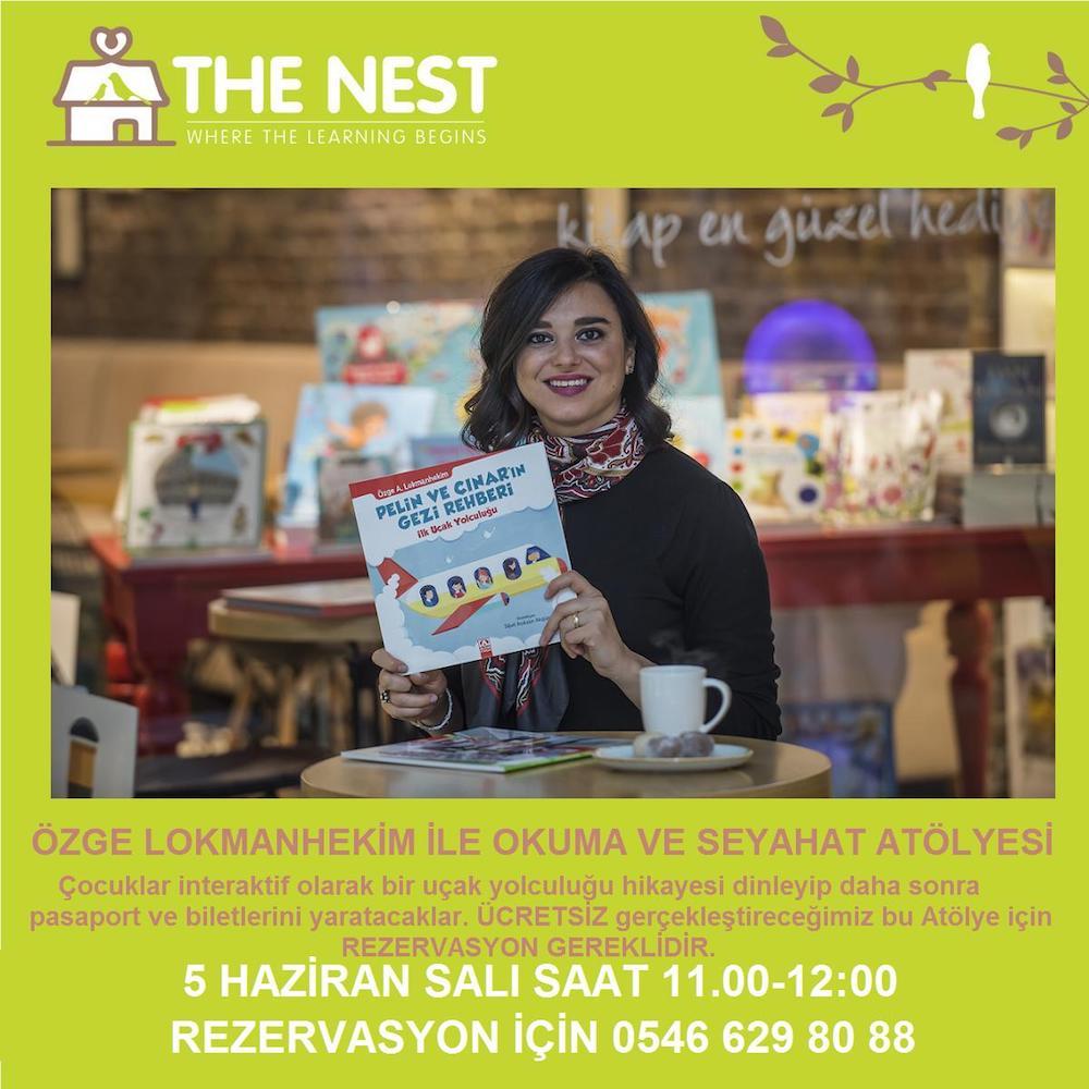 5 HAZİRAN THE NEST'TE OKUMA ATÖLYESİ
