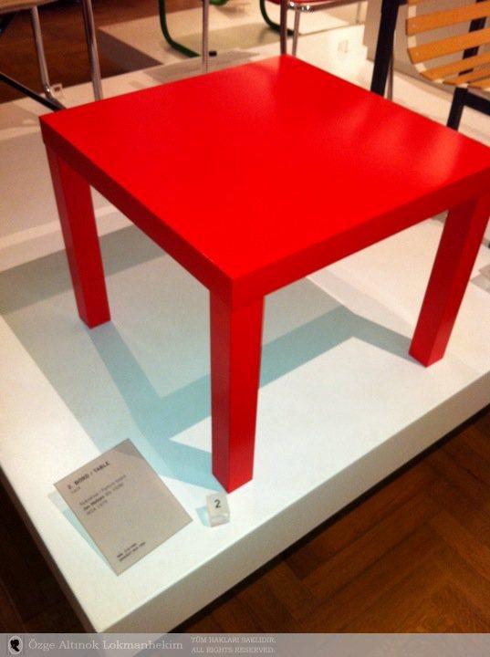 Jan Hellzen'in tasarladığı Ikea sehpa 1