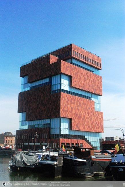 Antwerp, Het Eilandje ve Modern Sanat Müzesi 1