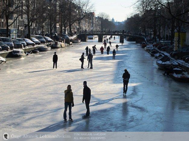 Amsterdam'da kanallar 1