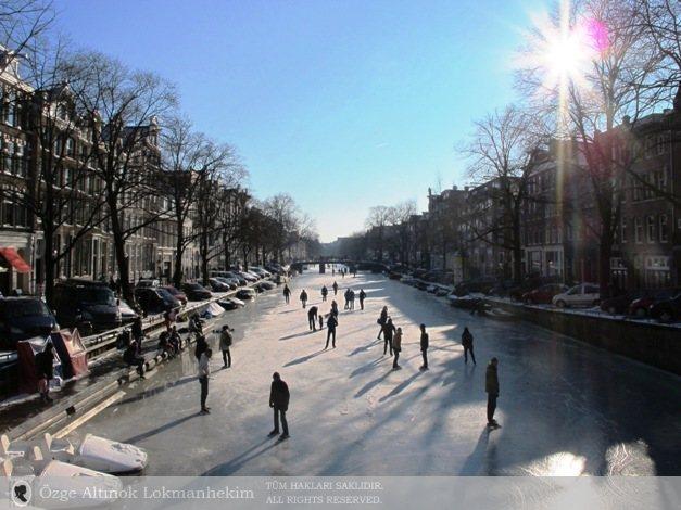 Amsterdam'da kanallar 5