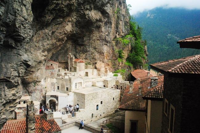 Trabzon Sümela Manastırı 1