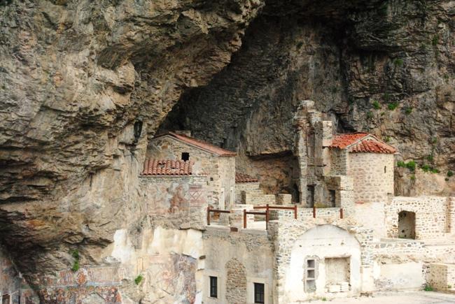Trabzon Sümela Manastırı 2