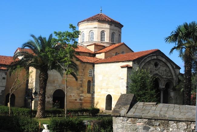 Faros'ta bulunan AyaSofya Müzesi 1