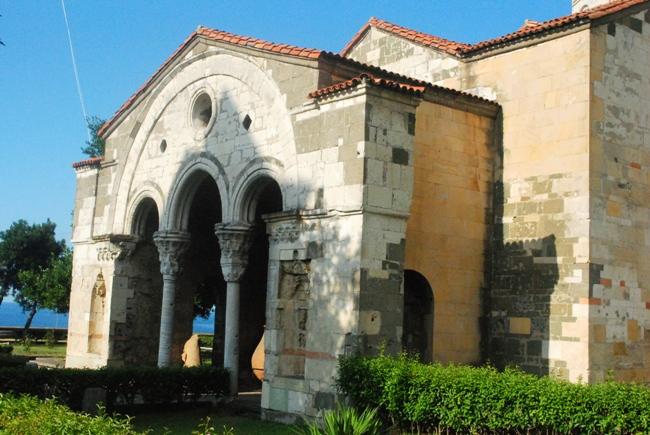 Faros'ta bulunan AyaSofya Müzesi 2