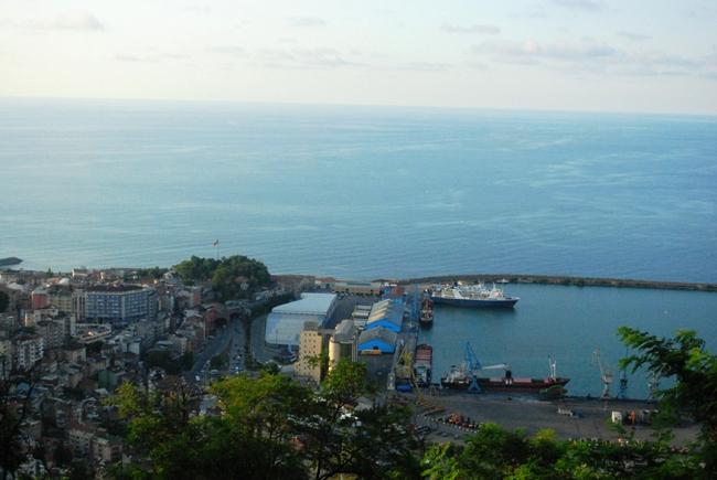 Trabzon'a tepeden bakıyoruz 1