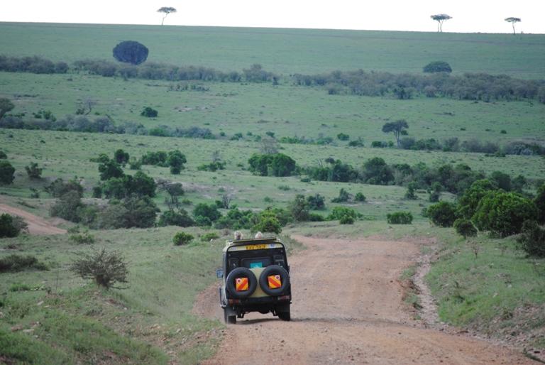 JAMBO KENYA ! Masai Mara'da Safari 14