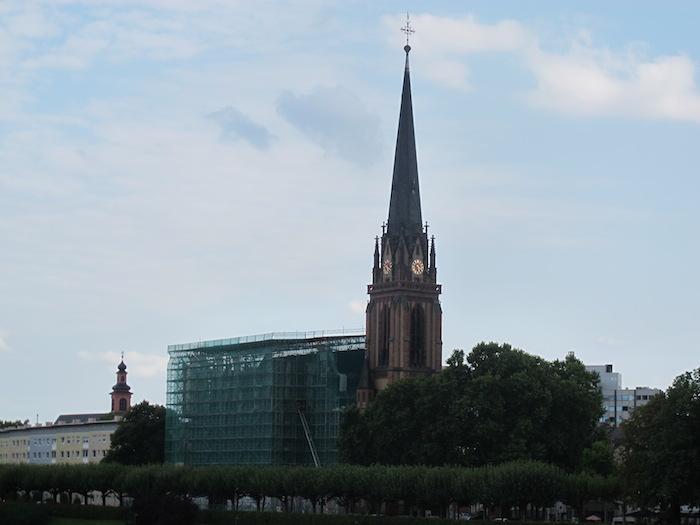 Halle 3, MesseTurm, Commerzbank Kulesi, Sallgasse 1
