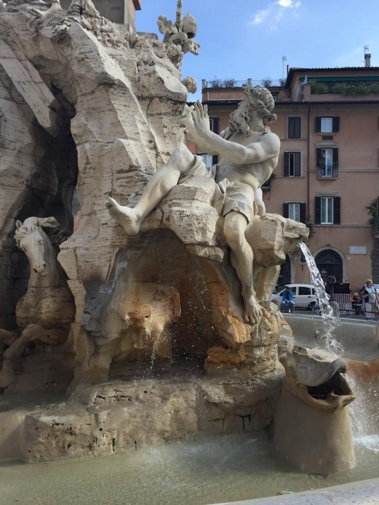 Çocukla Roma tatili 3