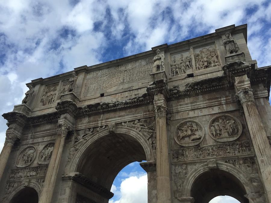 Çocukla Roma tatili 13