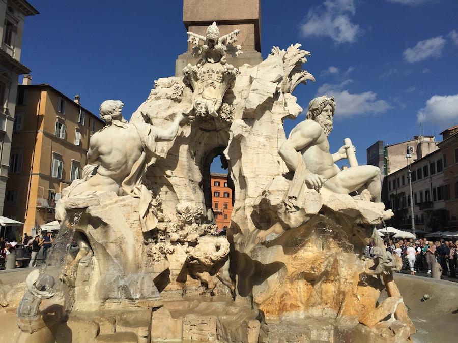 Çocukla Roma tatili 2