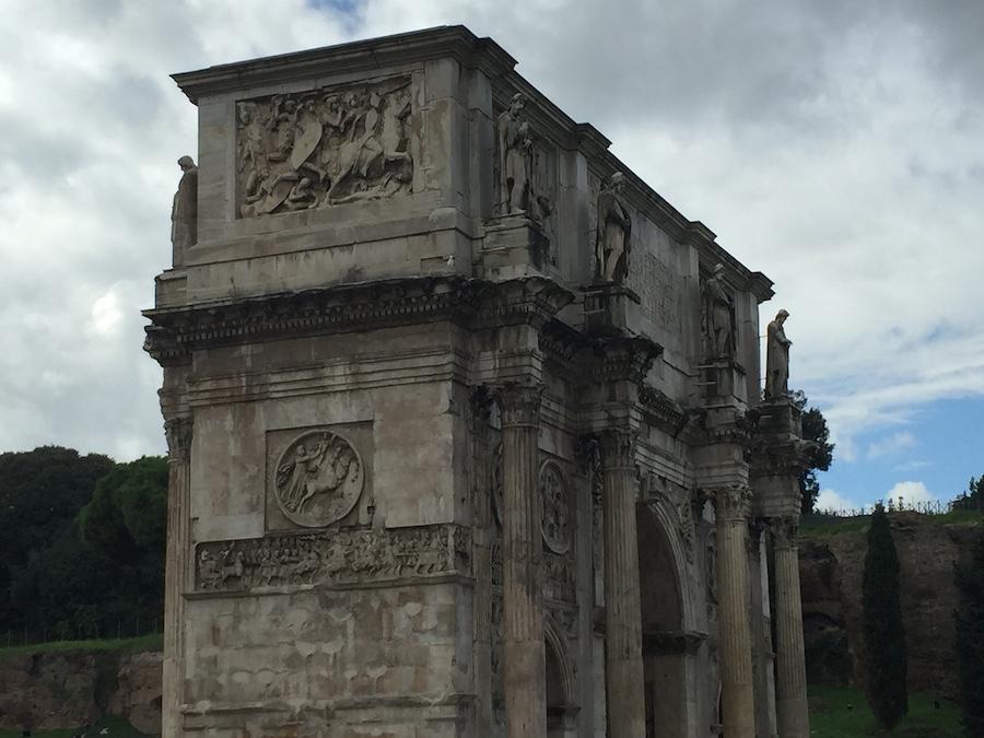 Çocukla Roma tatili 14