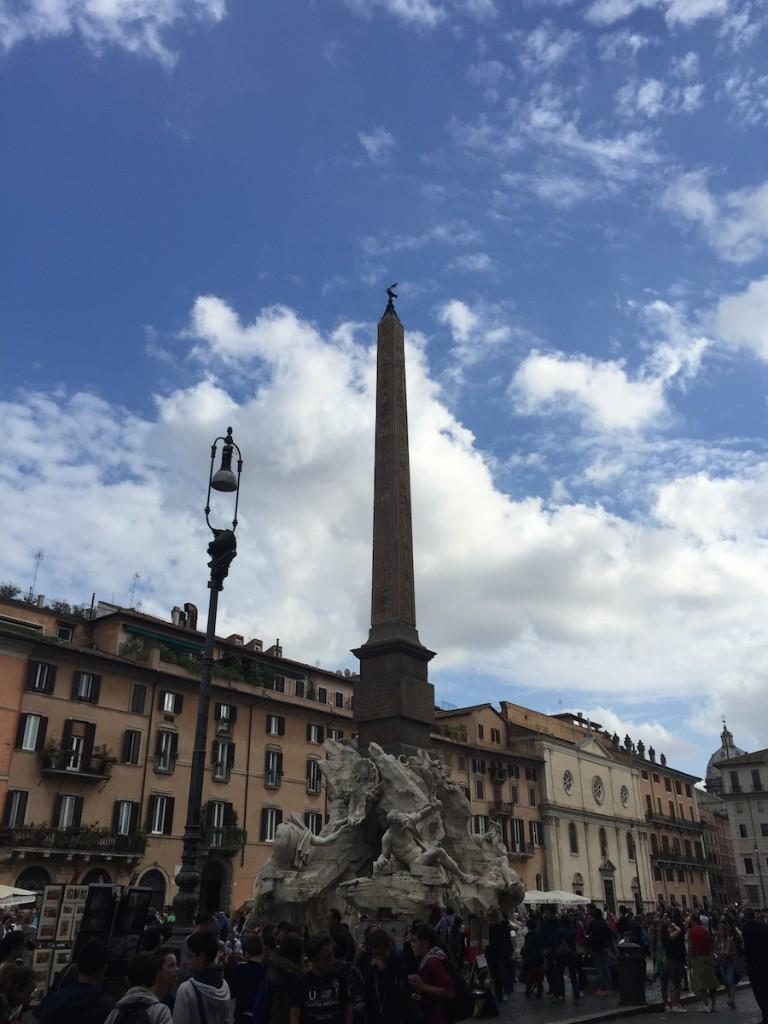Çocukla Roma tatili 5