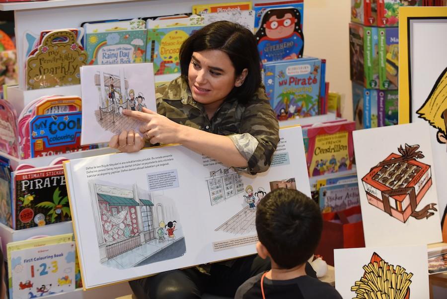 Tırtıl Kids Kitabevi Okuma Atölyesi 4