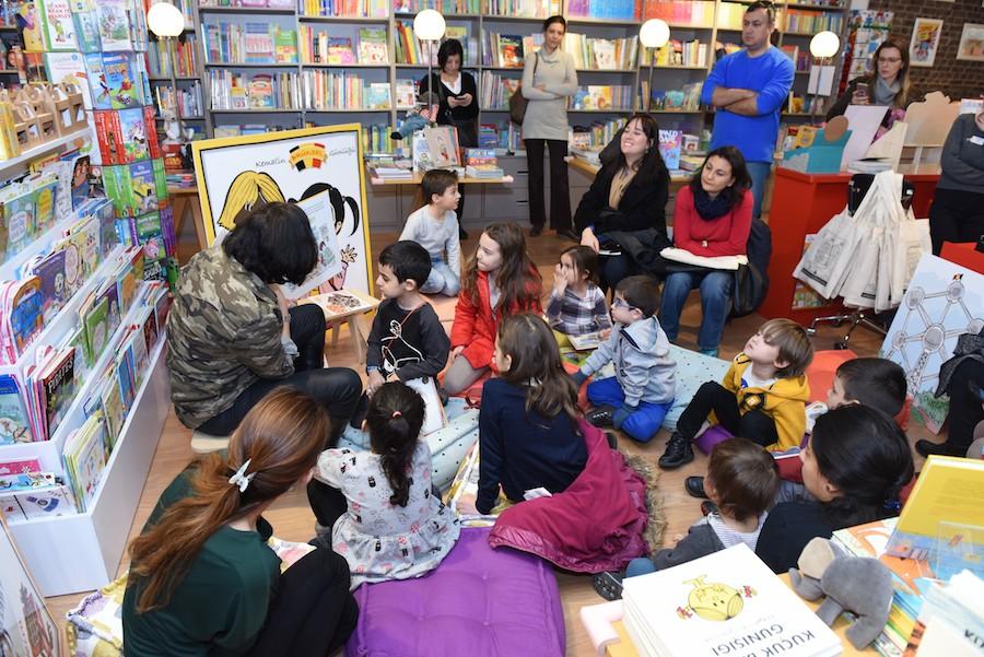 Tırtıl Kids Kitabevi Okuma Atölyesi 5