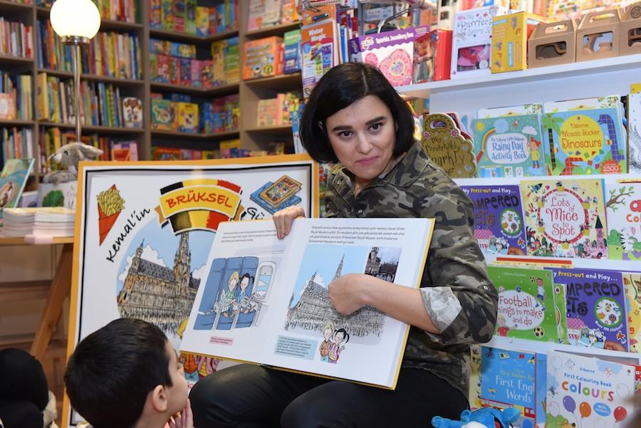 Tırtıl Kids Kitabevi Okuma Atölyesi 9